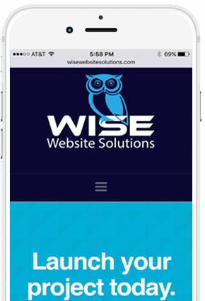 Wise web design for smarter business.